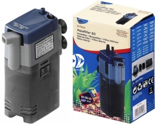 EBI Hi-Tech Aqua-Filter 80 (261-111147) - Filtr wewnętrzny do akwarium do 40l