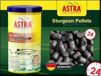 STURGEON PELLETS (mini) 1L - Pokarm dla jesiotrów i ryb jesiotrowatych
