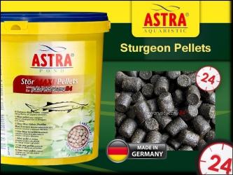 STURGEON PELLETS (maxi) 5L - Pokarm dla jesiotrów i ryb jesiotrowatych