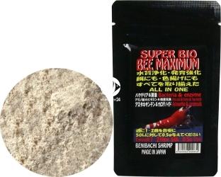 BENIBACHI Super Bio Bee Maximum 20g (d7BENISBMAX20) - Bakterie, pokarm, stymulator kolorów, oczyszczacz wody do krewetkarium
