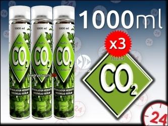PLANTIS BUTLA CO2 3x 1000ml - Zawiera CO2 niezbędne dla roślin.