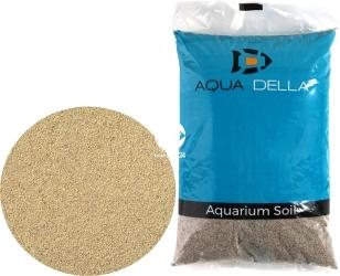 AQUA DELLA Sand Brown (257-110478) - Piasek dekoracyjny, naturalne podłoże do akwarium, nie zmienia parametrów wody.