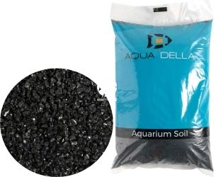 AQUA DELLA Gravel Black (257-447567) - Naturalne podłoże do akwarium, nie zmienia parametrów wody.