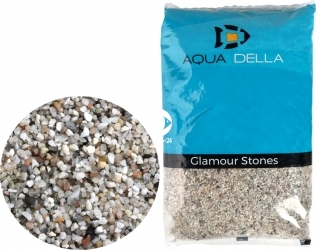 AQUA DELLA Gravel Light Fine (257-110614) - Żwir jasny, naturalne podłoże do akwarium, nie zmienia parametrów wody.