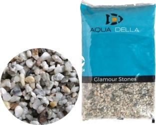 AQUA DELLA Gravel Light Coarse (257-110652) - Żwir jasny, naturalne podłoże do akwarium, nie zmienia parametrów wody.