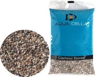 AQUA DELLA Gravel Dark Fine (257-110737) - Naturalne podłoże do akwarium, nie zmienia parametrów wody.