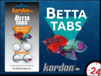 KORDON BETTA TABS (39106) - Musujące tabletki do uzdatniania wody dla bojowników