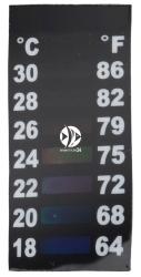 EBI Termometr Naklejany Mini LCD (227-419120) - Idealne do nano akwariów i krewetkariów