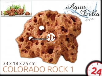 AQUA DELLA COLORADO ROCK 1 [234-421970] | Ręcznie malowana, sztuczna skała do akwarium