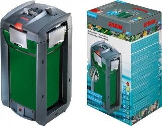 EHEIM Professionel 3e 600t (2178) + 8L AZOO Active Filter 4in1 (2178010) - Elektroniczny filtr zewnętrzny z grzałką do akwarium 300-600l