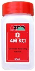 AZOO pH 4M KCL 50ml (AZ99016) - Roztwór do przechowywania elektrod pH