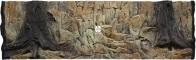 ATG Tło Standard (STD50x30) - Tło uniwersalne do akwarium, zawiera motywy skał i korzeni 150x50 cm