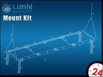 LUMINI MOUNT KIT - Stelaż do podwieszania oświetlenia Lumini