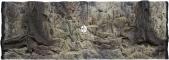 ATG Tło Standard (STD50x30) - Tło uniwersalne do akwarium, zawiera motywy skał i korzeni 150x60 cm