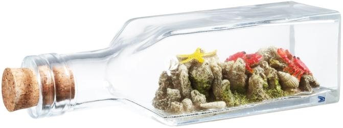 AQUA DELLA Drift Bottle 2 (234-425381) - Tonąca butelka, dekoracja do akwarium