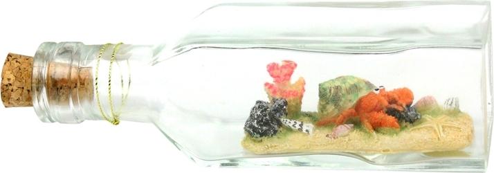 AQUA DELLA Drift Bottle 3 (234-425398) - Tonąca butelka, dekoracja do akwarium