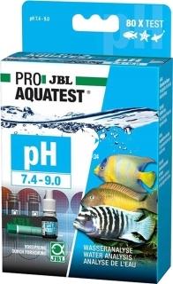JBL Test pH 7,4-9,0 (24105) - Zastosowanie Malawi, Tanganika, Sulawesi.