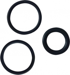 AQUA NOVA Uszczelki Zaworu NCF-1000/NCF-1200/NCF-1500 (NS1-OR SET) - 3 sztuki uszczelek do zaworu pojedynczego filtra NCF-1000, NCF-1200, NCF-1500, części zamienne filtra