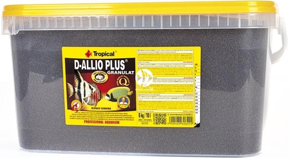 TROPICAL D-Allio Plus Granulat - Wieloskładnikowy pokarm granulowany z czosnkiem
