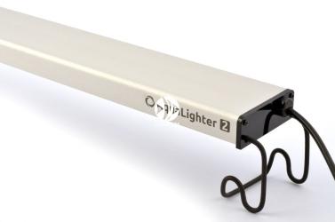 AQUALIGHTER 2 Srebrny 30cm (Freshwater) (82312) - Oświetlenie Led do akwarium słodkowodnego na diodach Cree
