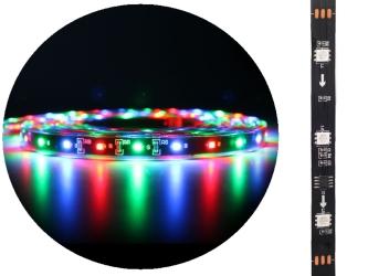 AQUAWILD Moon-Led Kolorowy (AQMLEDK1) - Oświetlenie nocne do akwarium + zasilacz