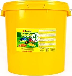 TROPICAL Spirulina Flakes - Roślinny pokarm płatkowany z dodatkiem glonów Spirulina platensis