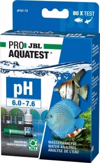 JBL Test pH 6,0-7,6 (24103) - Zastosowanie w akwariach roślinnych i dekoracyjnych.