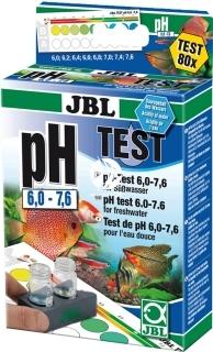 JBL Test pH 6,0-7,6 (25346) - Zastosowanie w akwariach roślinnych i dekoracyjnych.