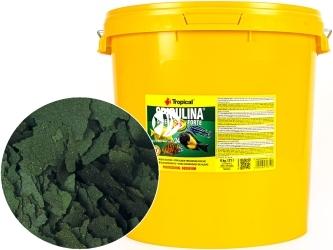 TROPICAL Spirulina Super Forte 4kg/21L (70319) - Roślinny pokarm płatkowy z wysoką zawartością spiruliny (36%)