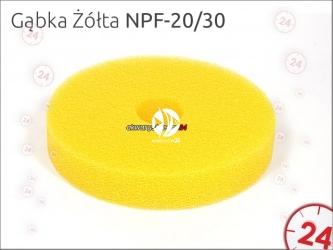 AQUA NOVA Gąbka żółta do filtra NPF-20 i NPF-30