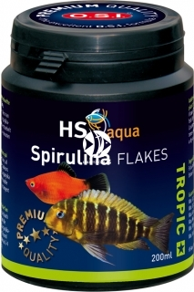 O.S.I. Spirulina Flakes (0030162) - Pływająco tonący pokarm (spirulina) w płatkach