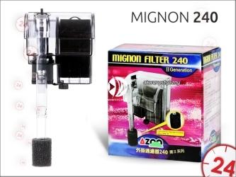 AZOO MIGNON 240 (AZ13100) - Filtr kaskadowy o przepływie 240l/h