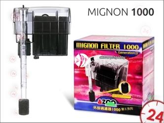 AZOO MIGNON 1000 (AZ13116) - Filtr kaskadowy o przepływie 720l/h