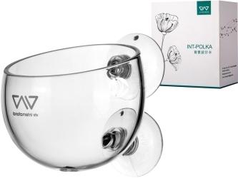 VIV Szklana doniczka (420-01) - Do sadzenia roślin i specjalnego wystroju akwarium