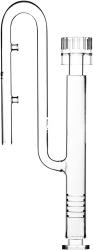 VIV Szklany wlot ze skimmerem (200-80) - Posiada regulację zasysania zanieczyszczeń góra/dół