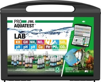 JBL ProAquaTest Lab (24084) - Walizka do testów z 14 testami do analizy słodkiej wody