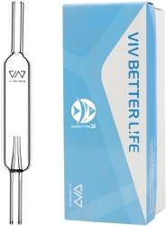 VIV Licznik Bąbelków CO2 (300-61) - Szklany, reguluje odpowiednią ilość podawanego dwutlenku węgla
