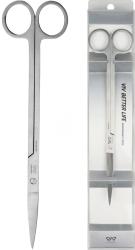 VIV Nożyczki Trimming Wygięte (604-02) - Nożyczki do przycinania roślin w akwarium