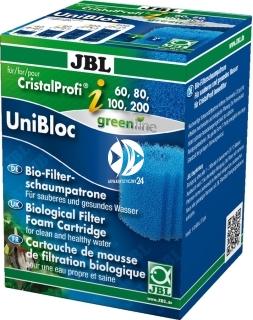 JBL CristalProfi i Unibloc (60928) - Wkład usuwający zabrudzenia mechaniczne do filtrów akwarystycznych JBL i60 i80 i100 i200.