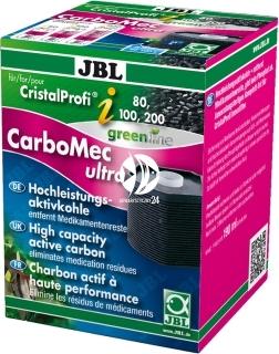 JBL CristalProfi i Carbomec Ultra (60930) - Wkład węglowy do filtrów akwarystycznych JBL i80 i100 i200.