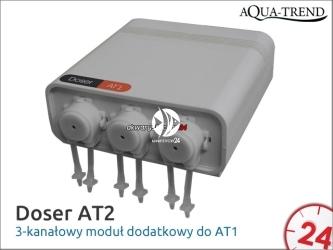AQUA TREND Doser AT-2 (AT0010) - Dodatkowy moduł wykonawczy do dozownika At-1 z trzema kanałami.