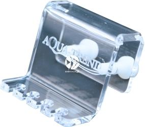 AQUA TREND Uchwyt na 4 węże dozujące Blue-Snake (AT0030) - Uchwyt akrylowy na wężyki silikonowe o średnicy zewnętrznej od 4,5mm do 4,8mm