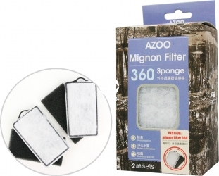 AZOO Mignon Filter Sponge 360 (AZ16057) - Wkłady wymienny do filtra Mignon 360