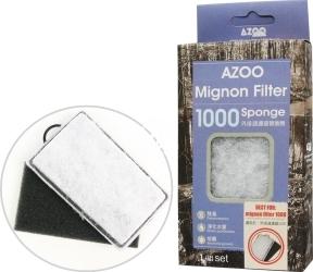 AZOO Mignon Filter Sponge 1000 (AZ16047) - Wkłady wymienny do filtra Mignon 1000