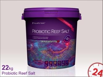 Aquaforest Probiotic Reef Salt 22kg | Syntetyczna sól morska stworzona z myślą o hodowli koralowców