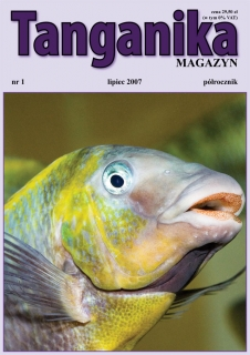 Tanganika Magazyn Magazyn nr.1 - Półrocznik o biotopie Tanganika.