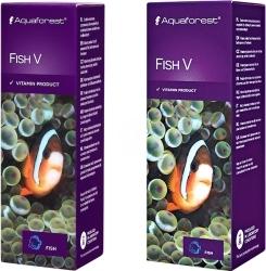 AQUAFOREST Fish V - Środek witaminowy dla wszystkich morskich ryb ozdobnych.