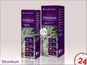 Aquaforest Strontium 10ml | Suplement zawierający skoncentrowany stront oraz bar