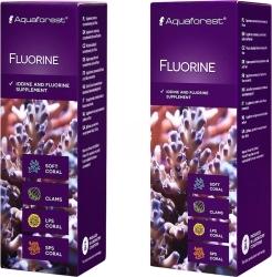 AQUAFOREST Fluorine - Suplement zawierający skoncentrowany jod i fluor dla koralowców.
