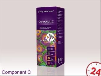Aquaforest Component C 200ml | Przeznaczony do uzupełniania jodu i fluoru w akwarium morskim